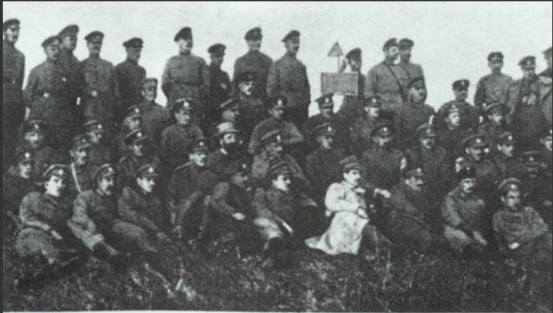 Бойцы Запорожской дивизии УСС