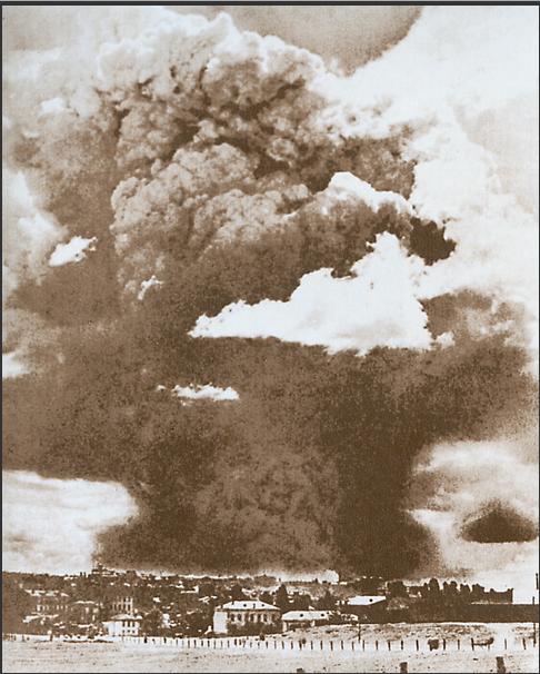 Взрыв артиллерийских складов. Киев, Май 1918 года.