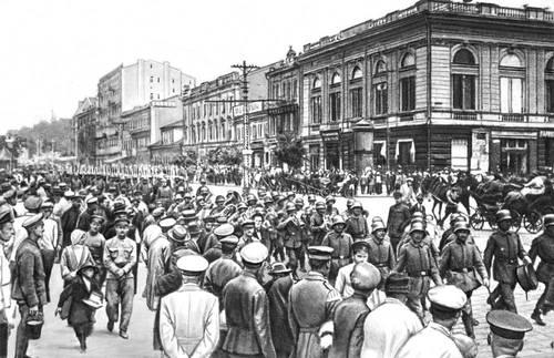 Вступление в Киев германских войск, 3 марта 1918 года