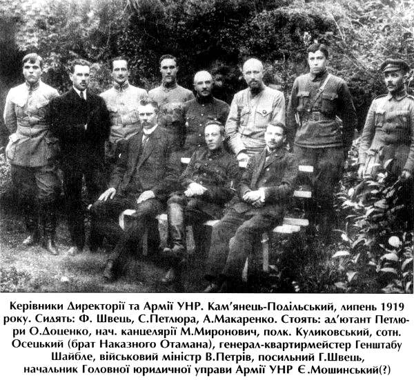 Директория Украинской Народной Республики