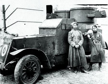 Донецкие гайдамаки возле панцерника ( Швидкий)