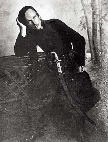 Командир полку чорных запорожцев полковник Петро Дяченко.