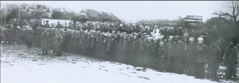 Махновский отряд.1920 год