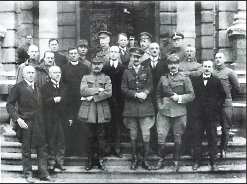 Миссия Антанты во Львове. Февраль 1919