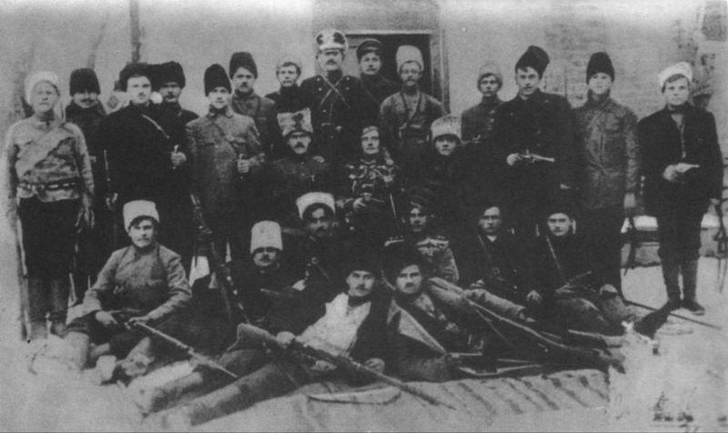 Отряд Федора Щуся. 1918 год. Махновцы