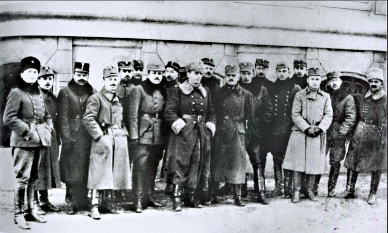 Офицеры УГА. 1919