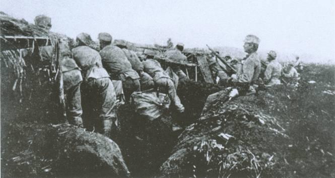 Сечевые стрельцы в боях под Галичем. 1914
