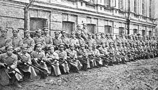 Сечевые стрельцы. Киев, март 1918 года