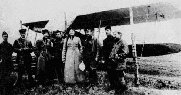 Старшины 1-го украинского (Запорожского) авиационного отряда. 5 марта 1919 года