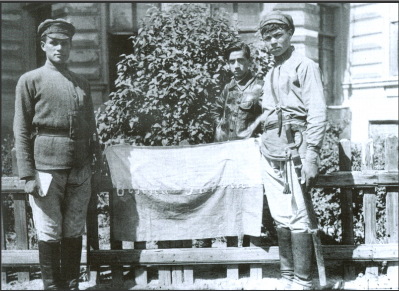 Флаг УНР.1918 год