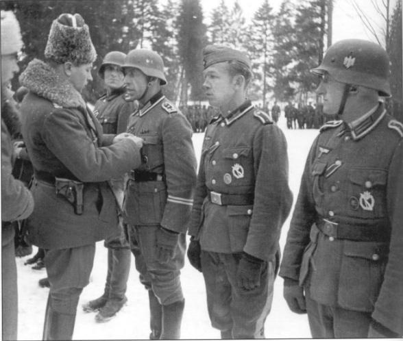 Фотографии казаков на службе Третьего Рейха. — worldhistorywar1