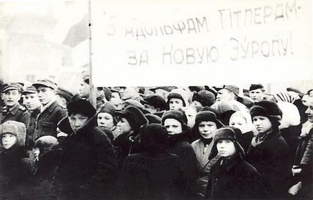 Демонстрация в Минске, 1944 г.2