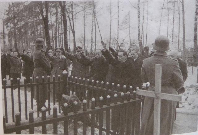 Почётные похороны бургомистра Минска Ивановского, декабрь 1943 года 2